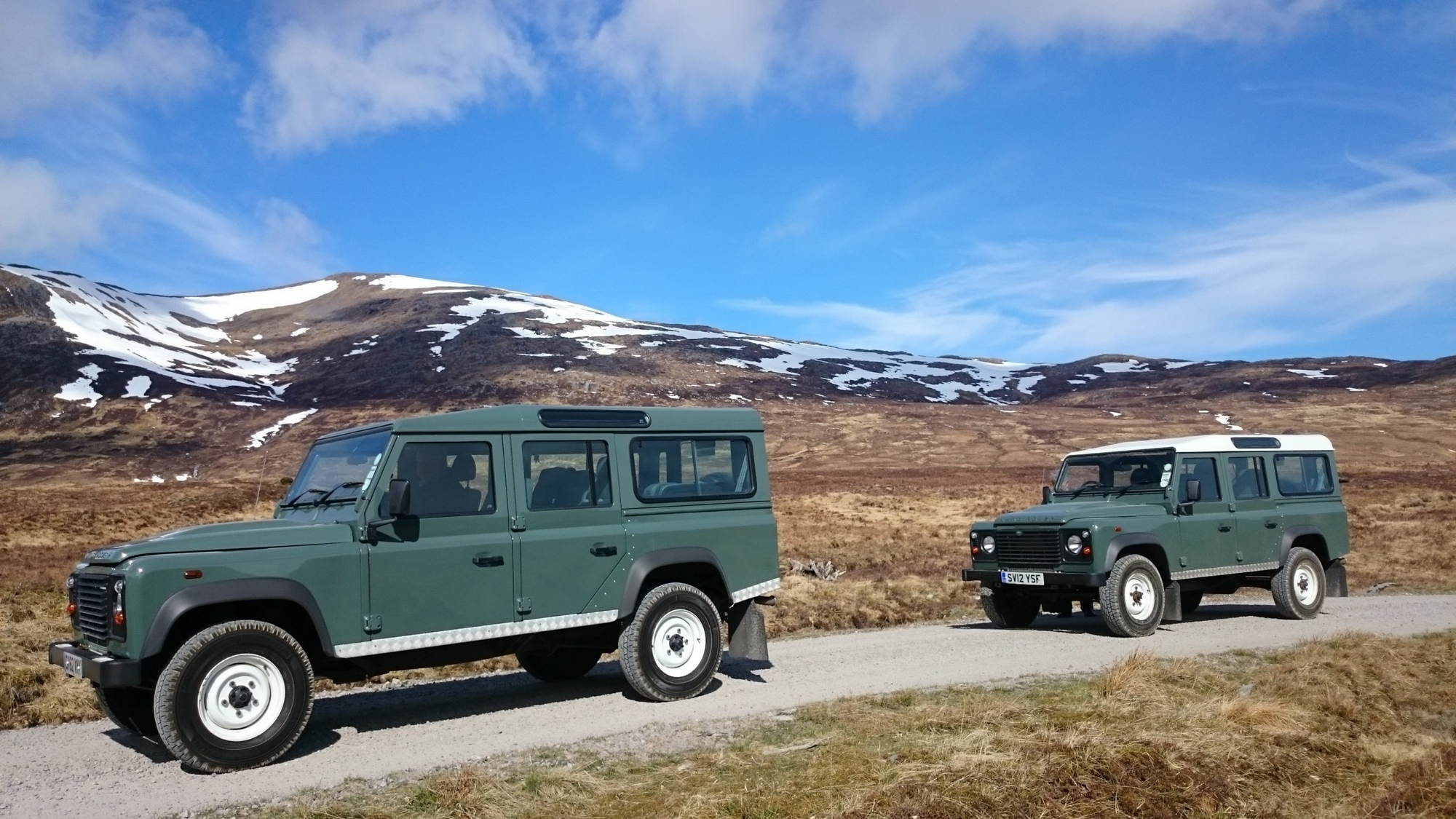 land rover defender for hire 4x4 rental in scotland. Black Bedroom Furniture Sets. Home Design Ideas